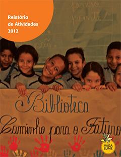 Capa do Relatório de Atividades 2012
