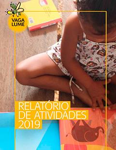 Capa do Relatório de Atividades 2019